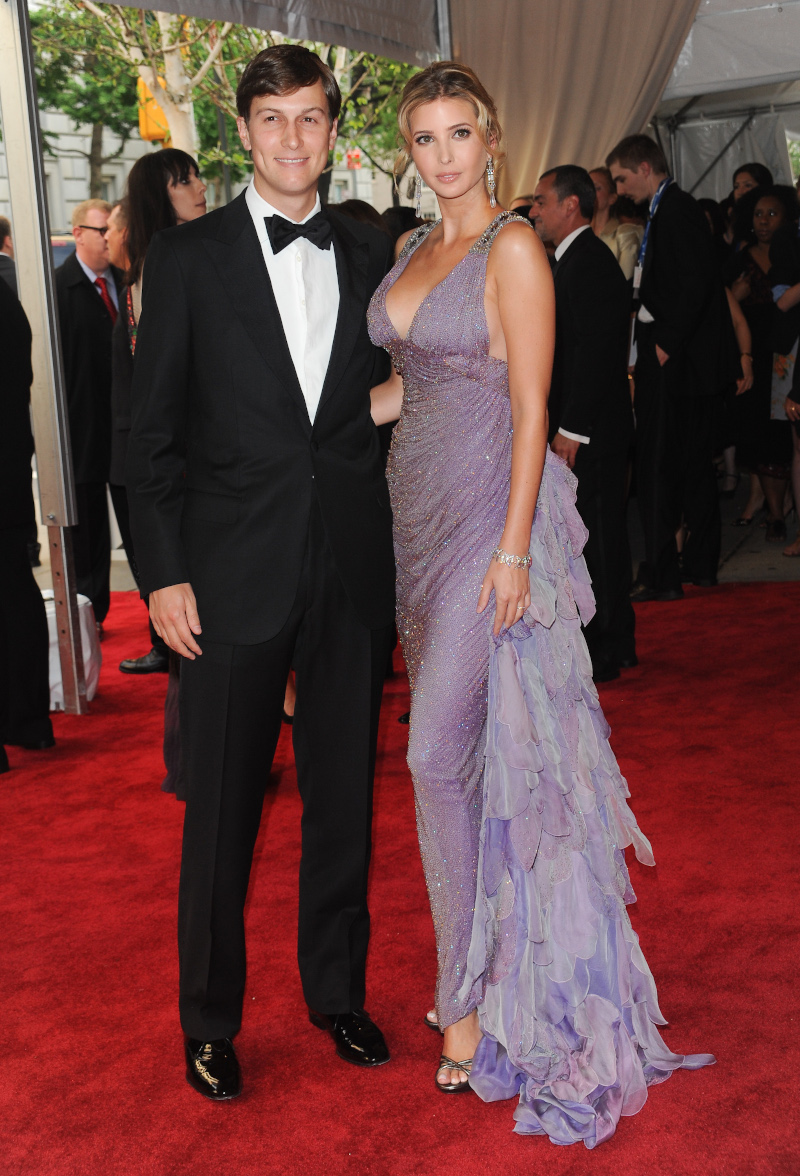 H Ιβάνκα Τραμπ κι ο Τζάρεντ Κούσνερ λίγους μήνες μετά το γάμο τους το 2009