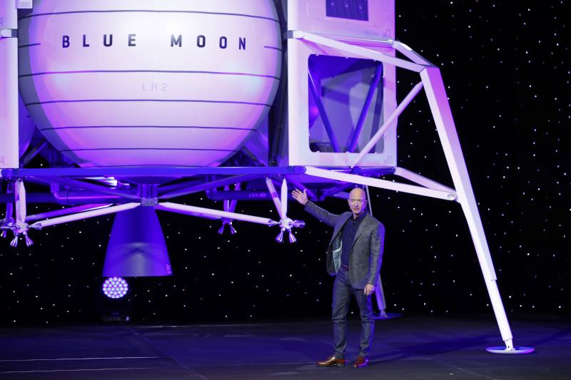 Το διαστημόπλοιο του Τζεφ Μπεζος