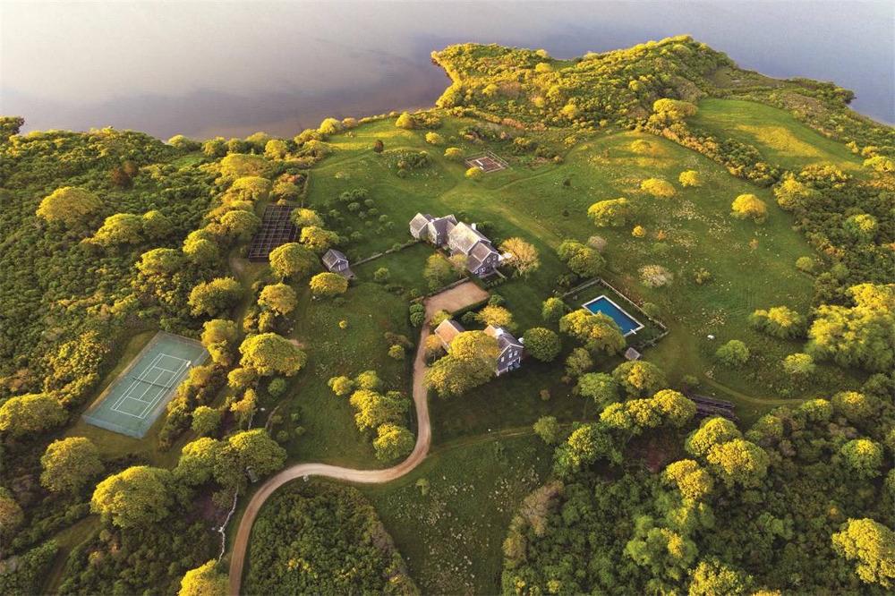 Η κατοικία των 340 στρεμμάτων στο νησί Martha's Vineyard