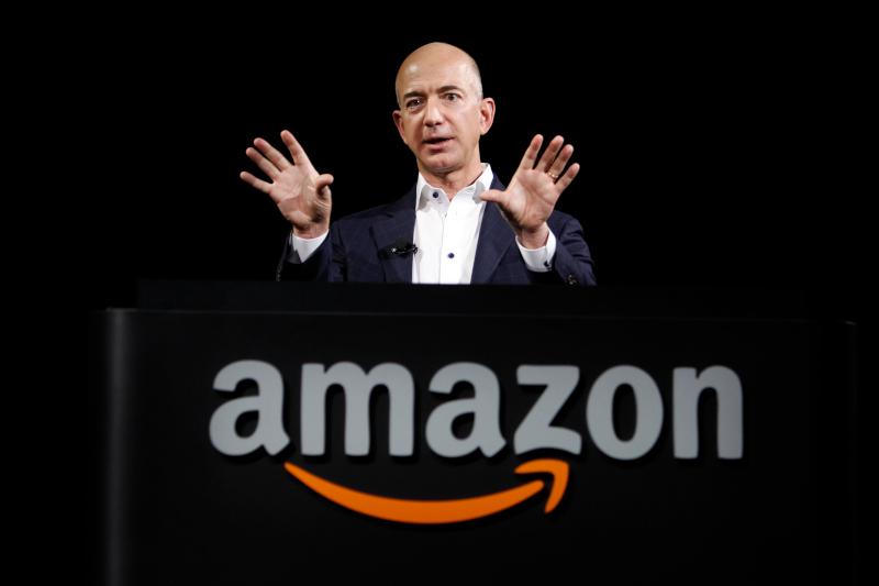 To αφεντικό της Amazon, Τζεφ Μπέζος