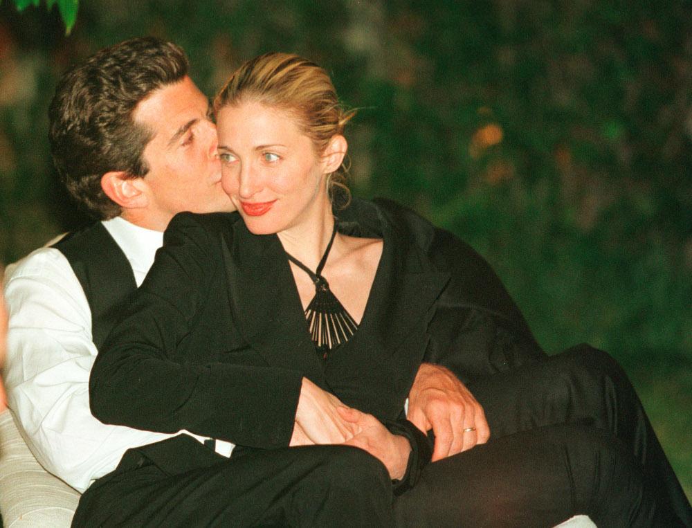 Ο Τζον Κένεντι Τζούνιορ με την σύζυγό του, Καρολάιν