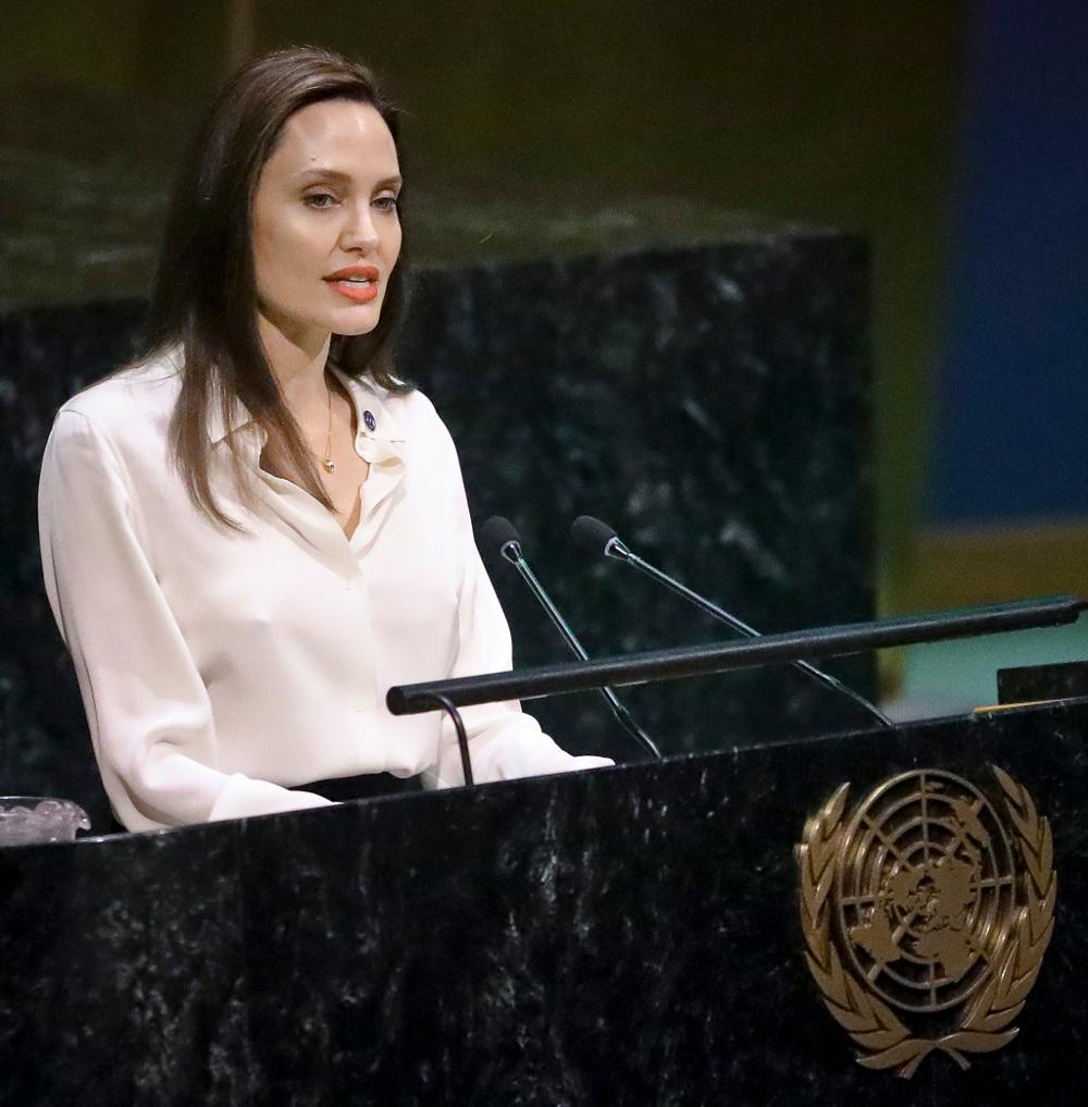 Η διάσημη ηθοποιός είναι Ειδική Απεσταλμένη της Ύπατης Αρμοστείας των Ηνωμένων Εθνών για τους Πρόσφυγες εδώ και 18 χρόνια