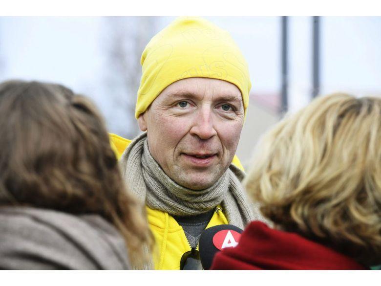 Ο επικεφαλής των ακροδεξιών Αληθινών Φινλανδών, Γιούσι Χάλα-άχο.