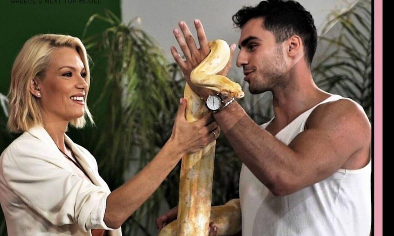 αντας γυναίκα φίδι