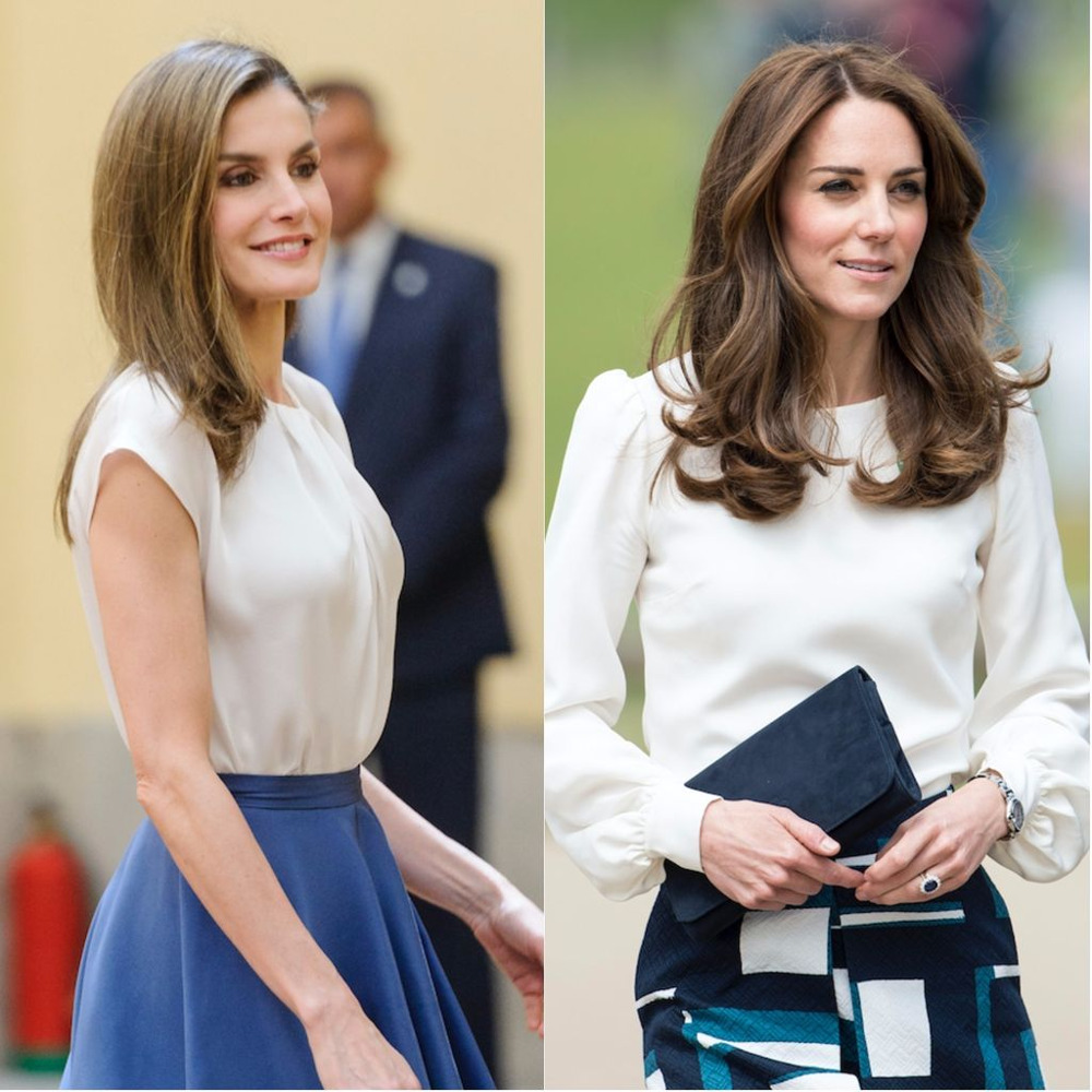 Κομψές εμφανίσεις για Κέιτ Μίντλετον και βασίλισσα Λετίθια