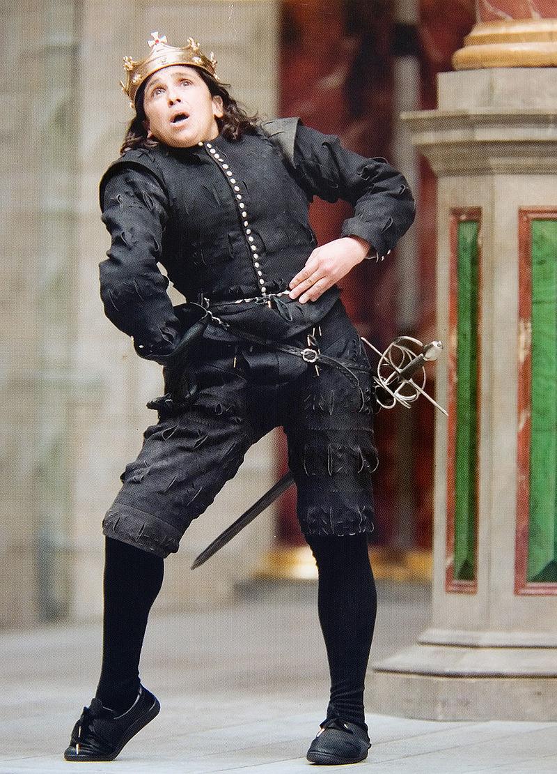 Η Κάθριν Χαντερ υποδύεται τον βασιλιά Ριχάρδο