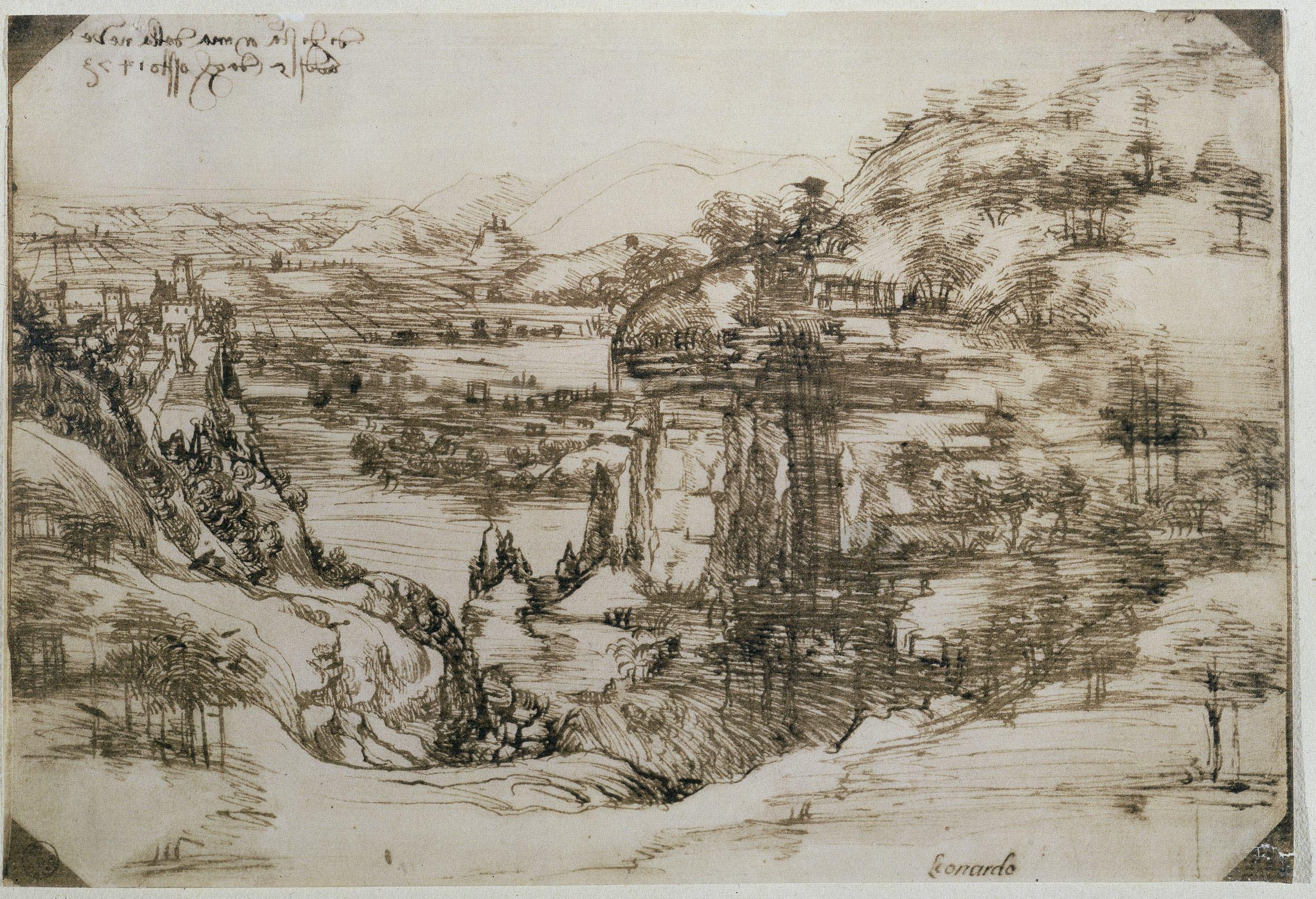 Σχέδιο του Λεονάρντο Ντα Βίντσι