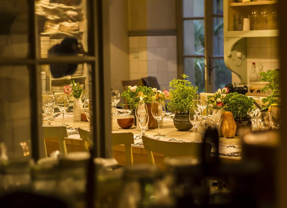 Το εστιατόριο «La Mirande» όπου δείπνησαν χθες το βράδυ οι Ομπάμα
