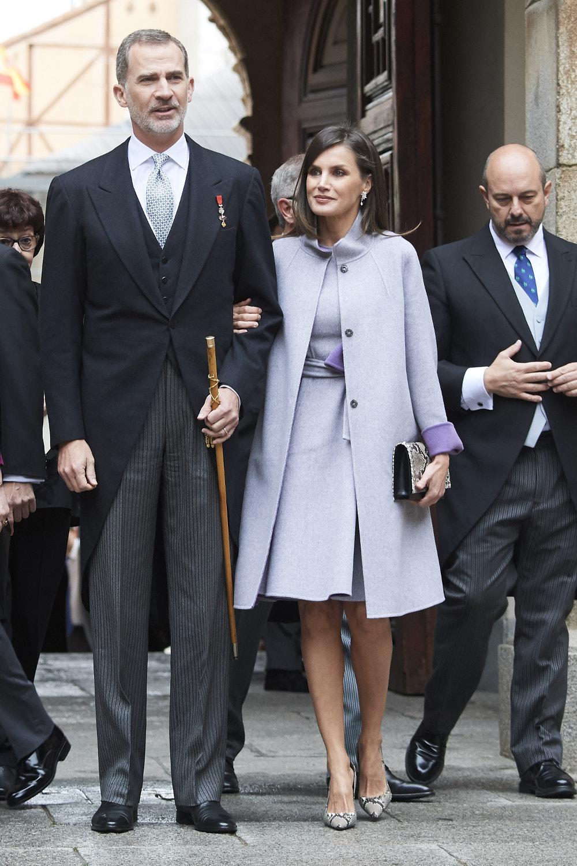 Βασιλιάς Φελίπε και βασίλισσα Λετίθια