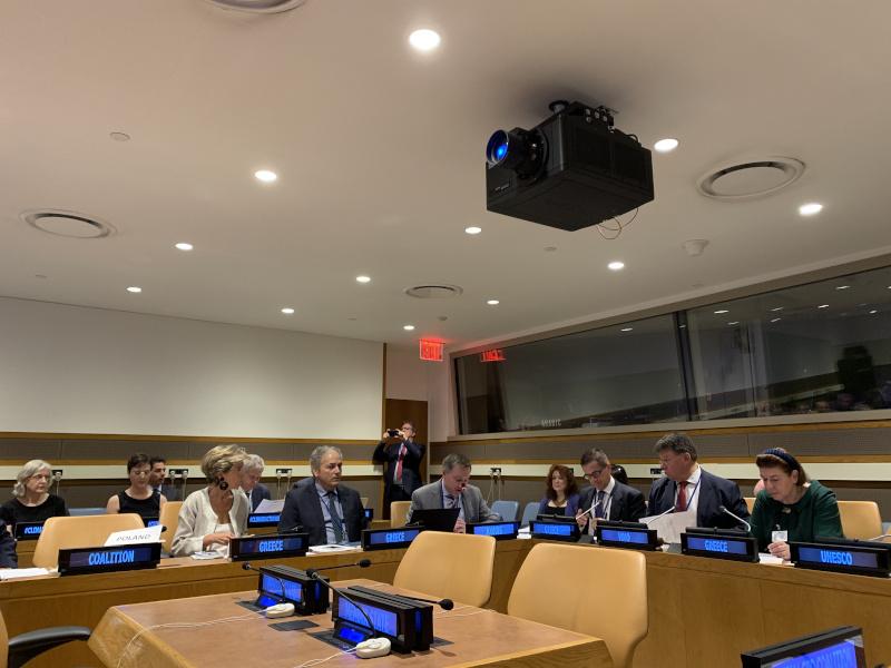Η Λίνα Μενδώνη στον ΟΗΕ