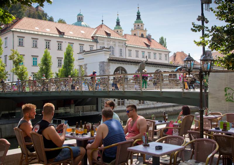 Η Λιουμπλιάνα, πρωτεύουσα της Σλοβενίας και γενέτειρα της Μελάνια Τραμπ