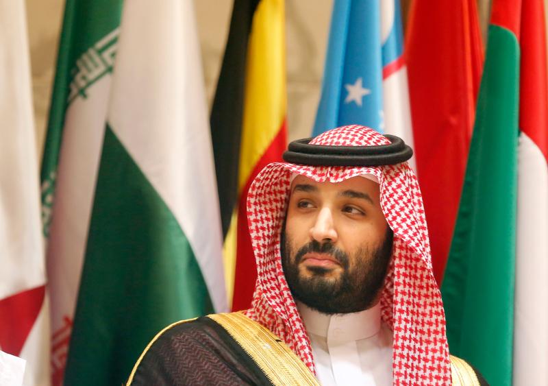 Ο πρίγκιπας διάδοχος του θρόνου της Σαουδικής Αραβίας, Μοχάμεντ Μπιν Σαλμάν.
