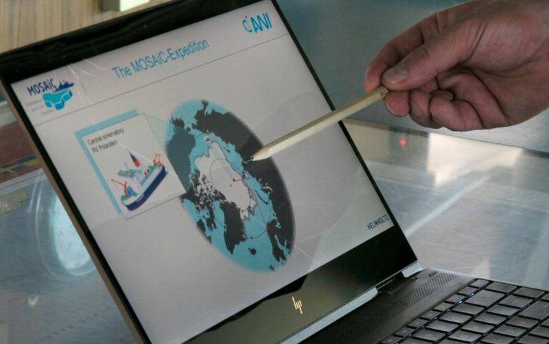 Στόχος της αποστολής MOSAiC είναι η μελέτη των επιπτώσεων της κλιματικής αλλαγής στην Αρκτική.