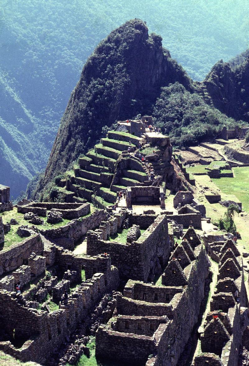 Άποψη του Μάτσου Πίτσου, που χτίστηκε γύρω στο 1460 μ.Χ.