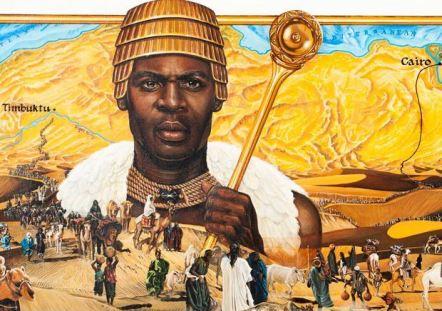 Ο Μάνσα Μούσα και το καραβάνι του κατευθύνονται προς το Κάιρο.