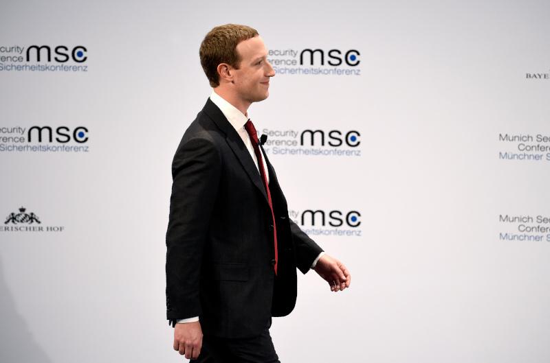 O ιδιοκτήτης του Facebook Μαρκ Ζούκερμπεργκ