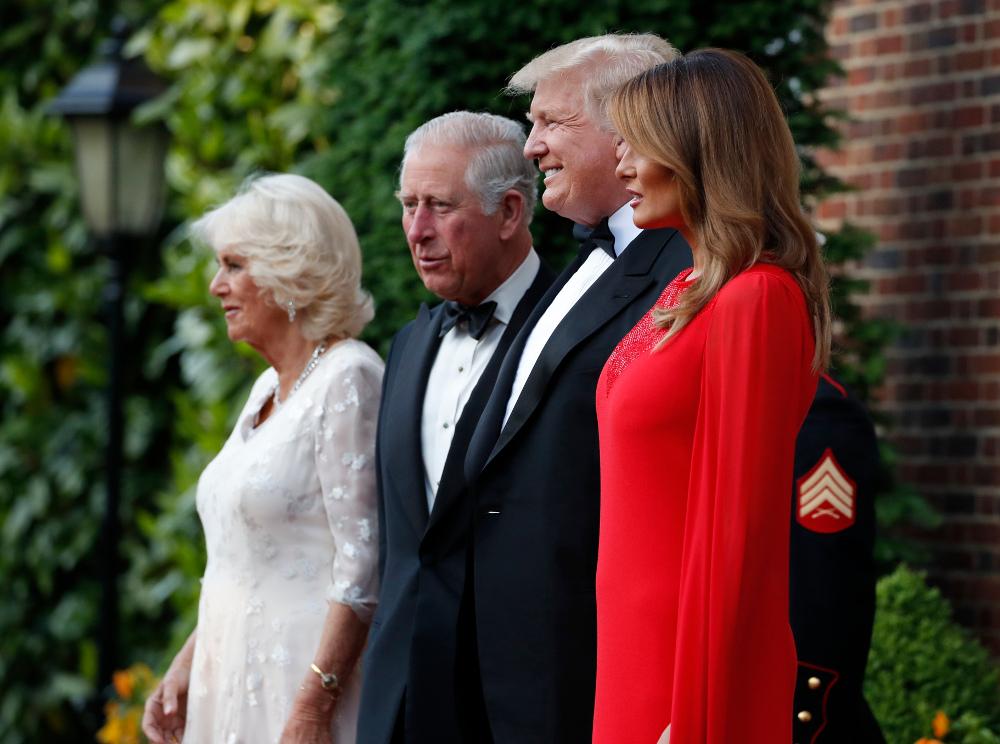 Μοναδική εμφάνιση της Μελάνια Τραμπ για ακόμη μία φορά - Έχει ξετρελάνει τους Βρετανούς