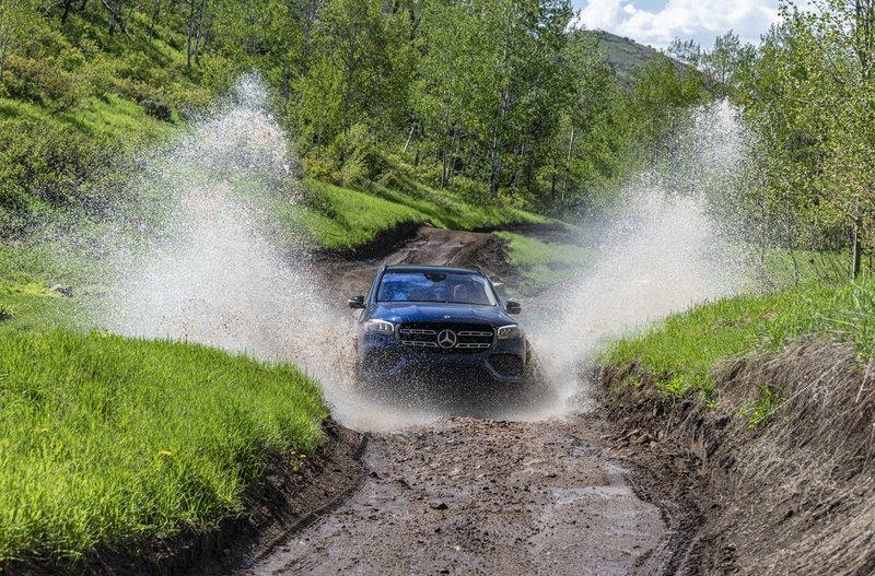 Το μεγάλο SUV της Mercedes, μαζί με τη μικρότερη GLE, κατασκευάζονται στο εργοστάσιο της εταιρείας στην Αλαμπάμα των Η.Π.Α.