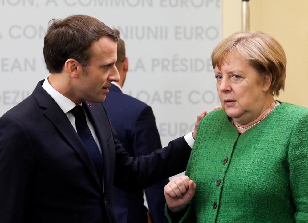 Στο δείπνο δεν παρακάθισαν ούτε ο Γάλλος πρόεδρος Εμανουέλ Μακρόν, ούτε η Γερμανίδα καγκελάριος Άνγκελα Μέρκελ
