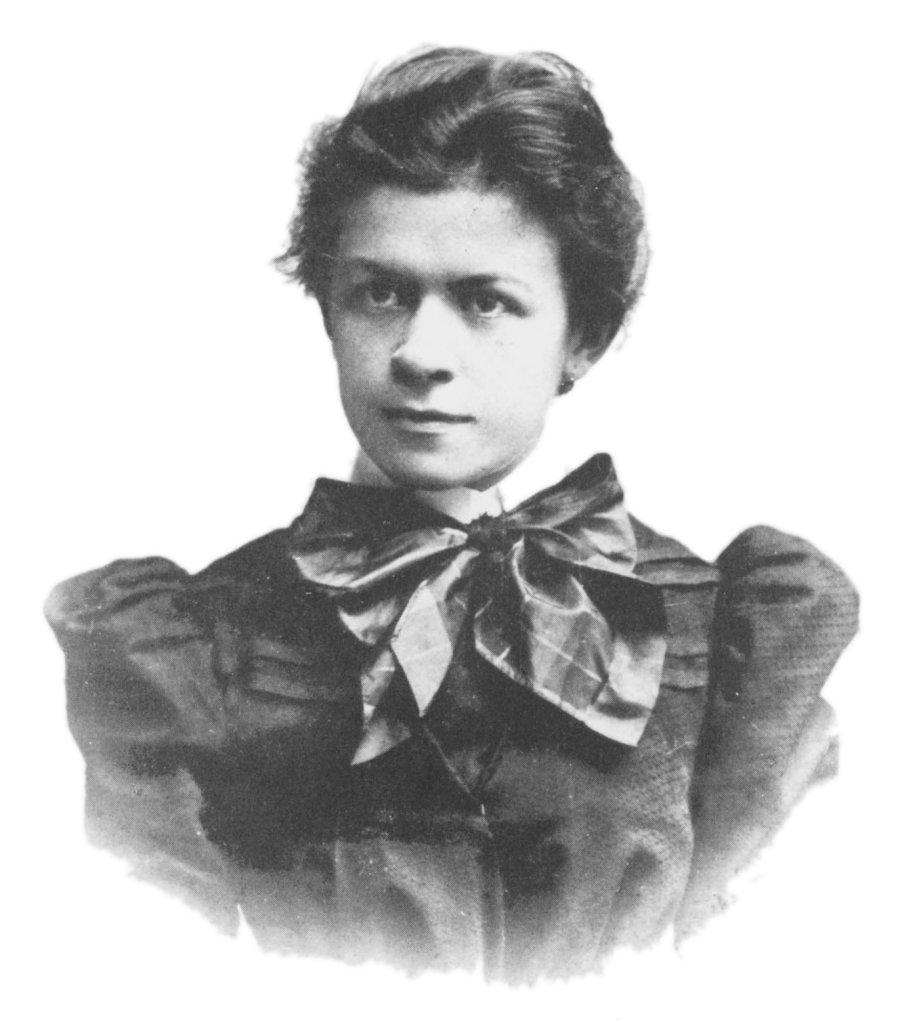 Η Μιλέβα Μάριτς σε μια φωτογραφία του 1896.