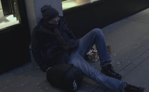 Ο Μπόμπι Μίσνερ πέρασε τρεις μέρες ως άστεγος στους δρόμους του Σόχο στο κεντρικό Λονδίνο.