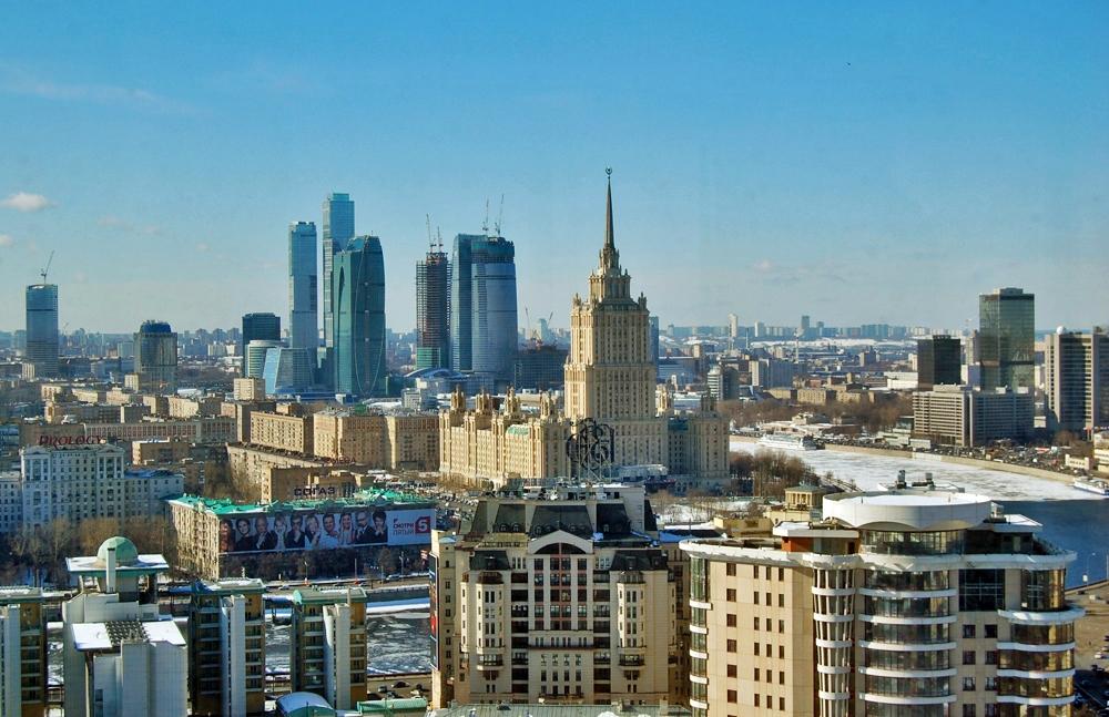 Άποψη της Μόσχας.
