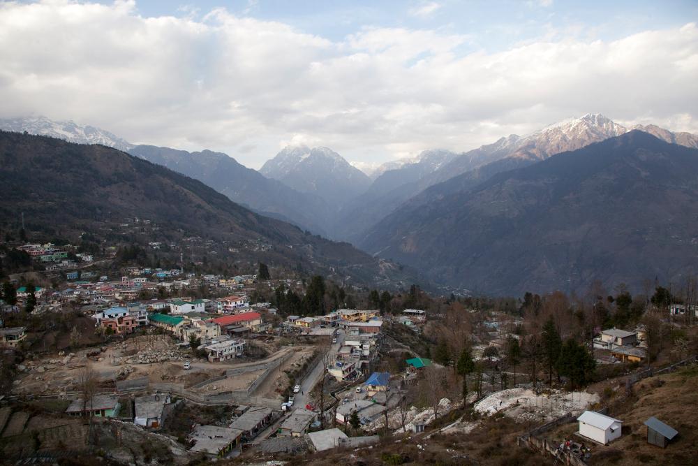 Το χωριό Μουνσιγιάρι στην Ουταρκάσι της Ινδίας