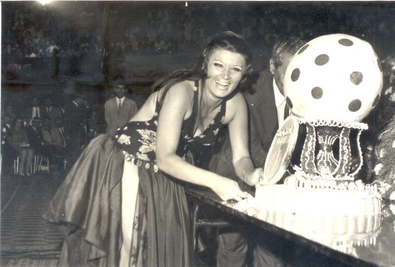 Η Νάγκουα Φουάντ, η Αιγύπτια χορεύτρια της κοιλιάς που είχε κερδίσει τον θαυμασμό του Χένρι Κίσινγκερ.