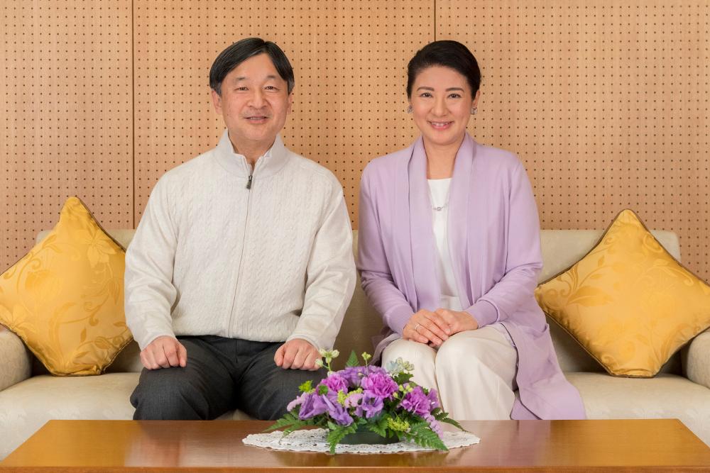 Ο αυτοκράτορας Ναρουχίτο και η σύζυγός του, Μασάκο