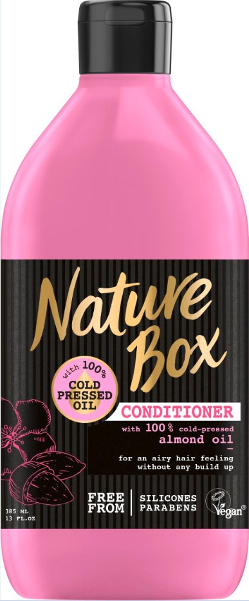 Το conditioner της σειράς Nature Box με άρωμα αμύγδαλο