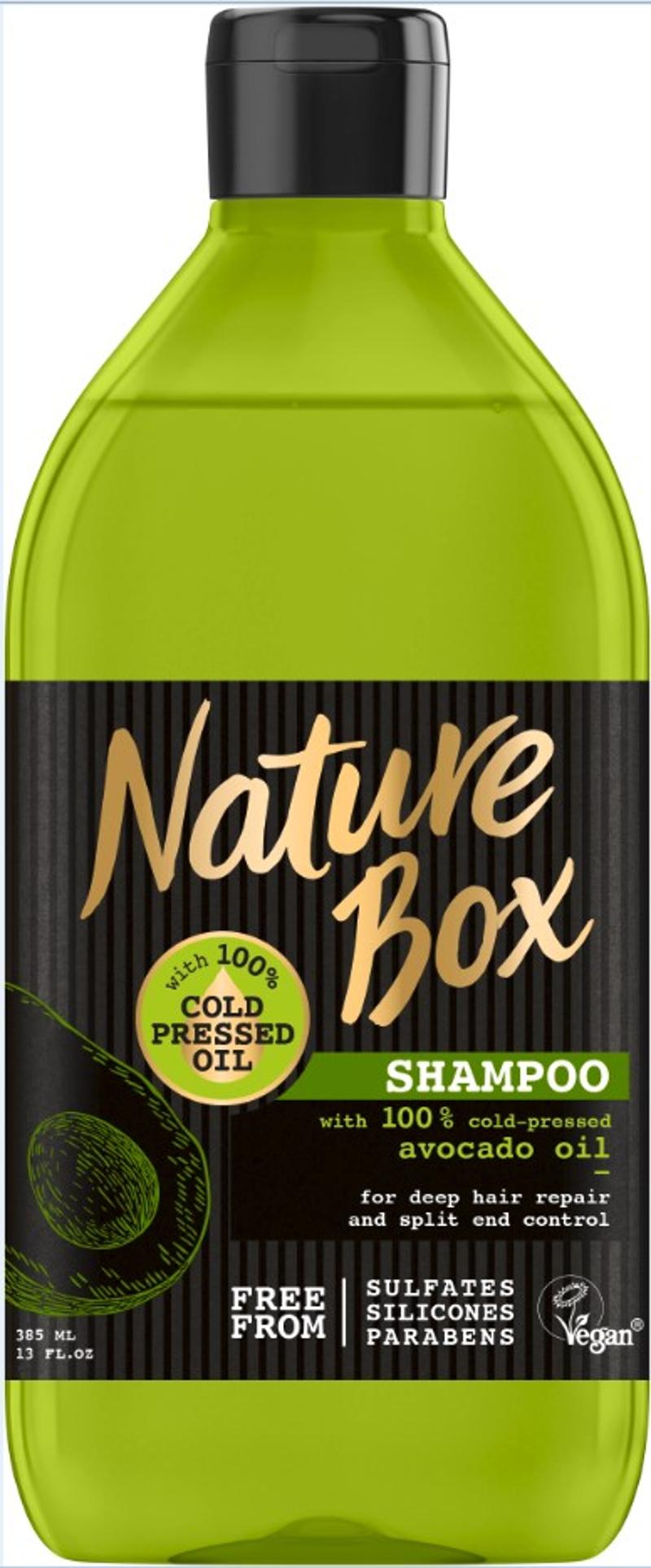 Το σαμπουάν, Nature Box με άρωμα αβοκάντο