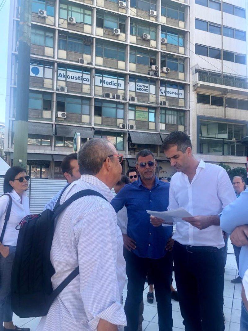 «Για μας είναι στοίχημα να αναστήσουμε ξανά την Ομόνοια» τόνισε ο Δήμαρχος Αθηναίων.