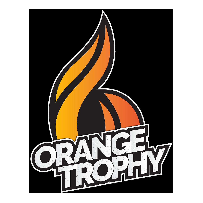 Orange trophy logo