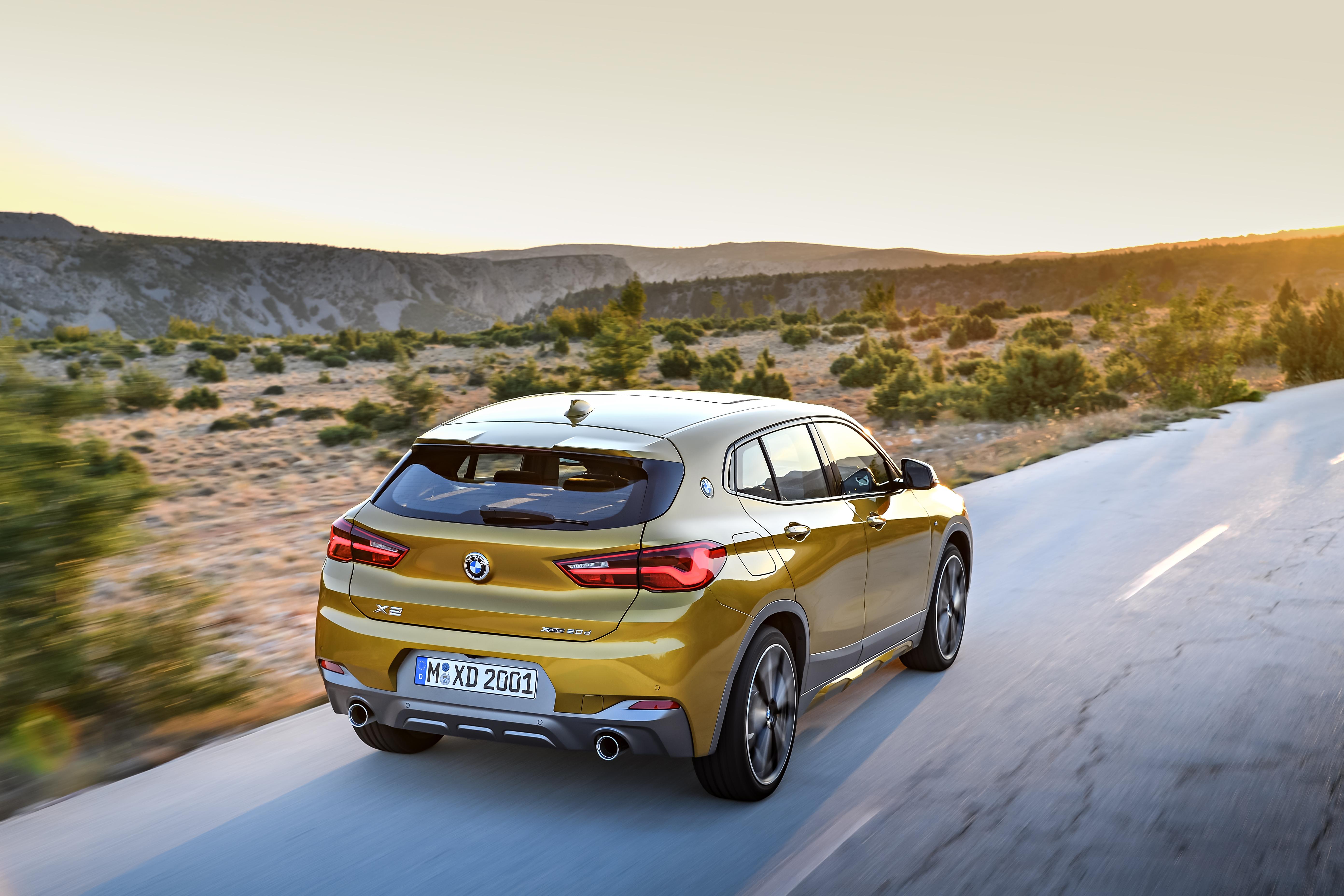 Η BMW X2 έχει ξεκάθαρα σπορ φιλοδοξίες
