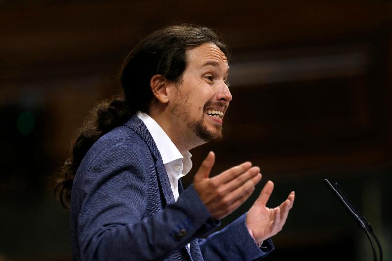 O ηγέτης των αριστερών Podemos, Πάμπλο Ιγκλέσιας.