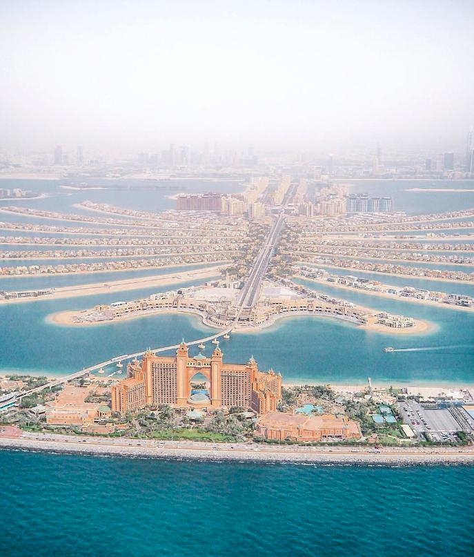 Το Palm Jumeirah - το τεχνητό νησί του Ντουμπάι