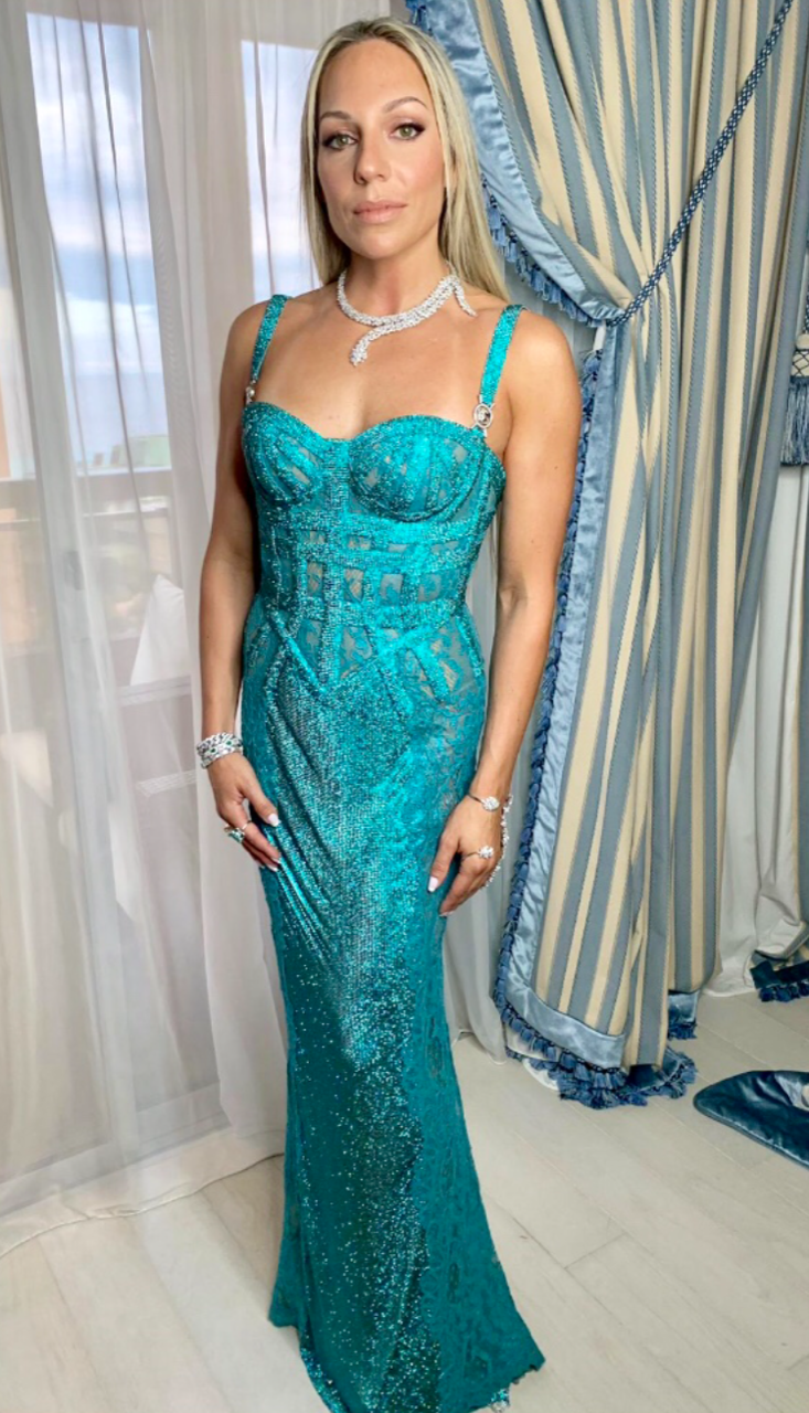 Versace φόρεμα Ρόης Αποστολοπούλου