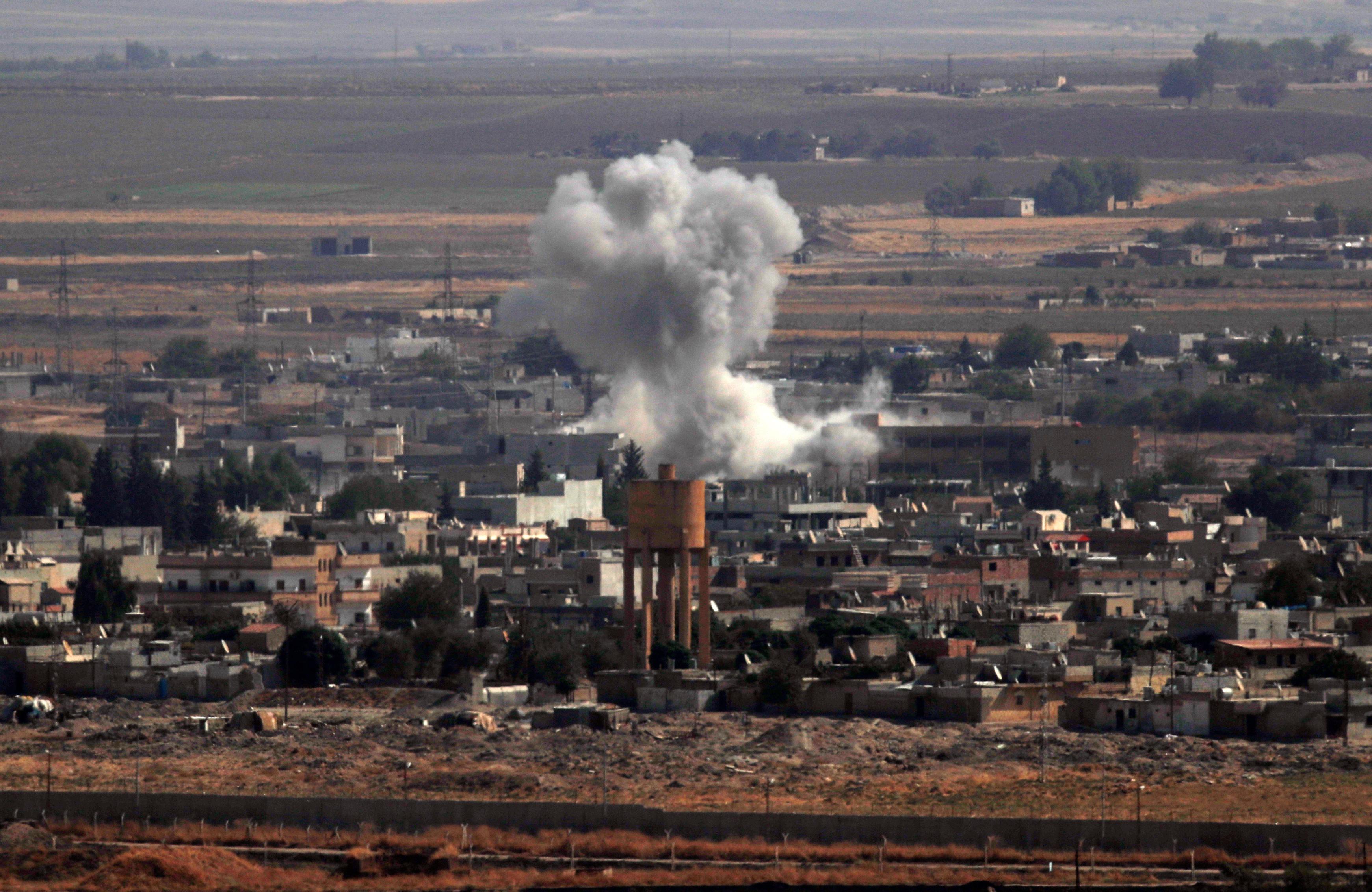 Συνεχίζονται οι τουρκικοί βομβαρδισμοί στο Ρας αλ Άιν.