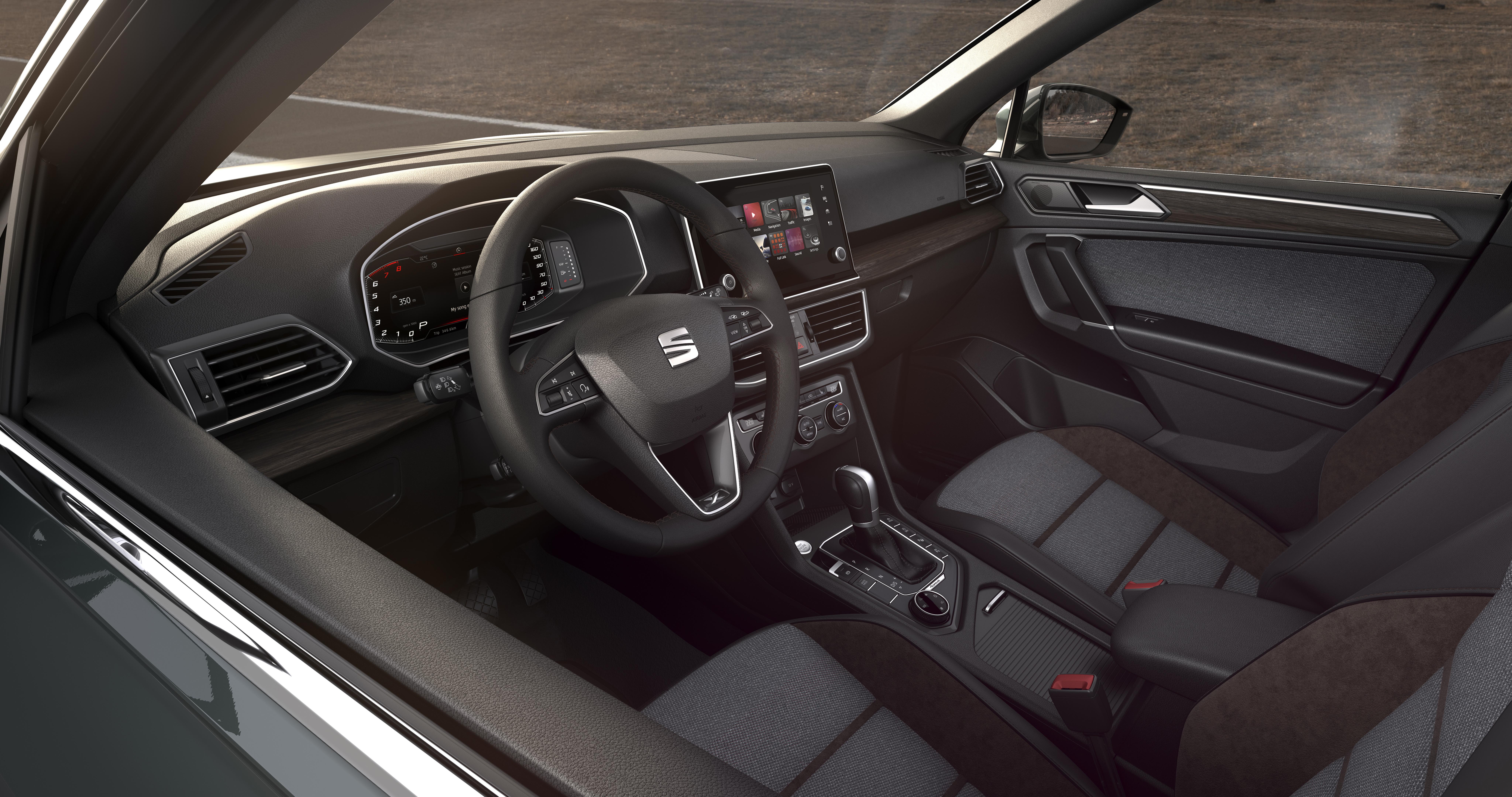 Πανέμορφο και το εσωτερικό του SEAT Tarraco