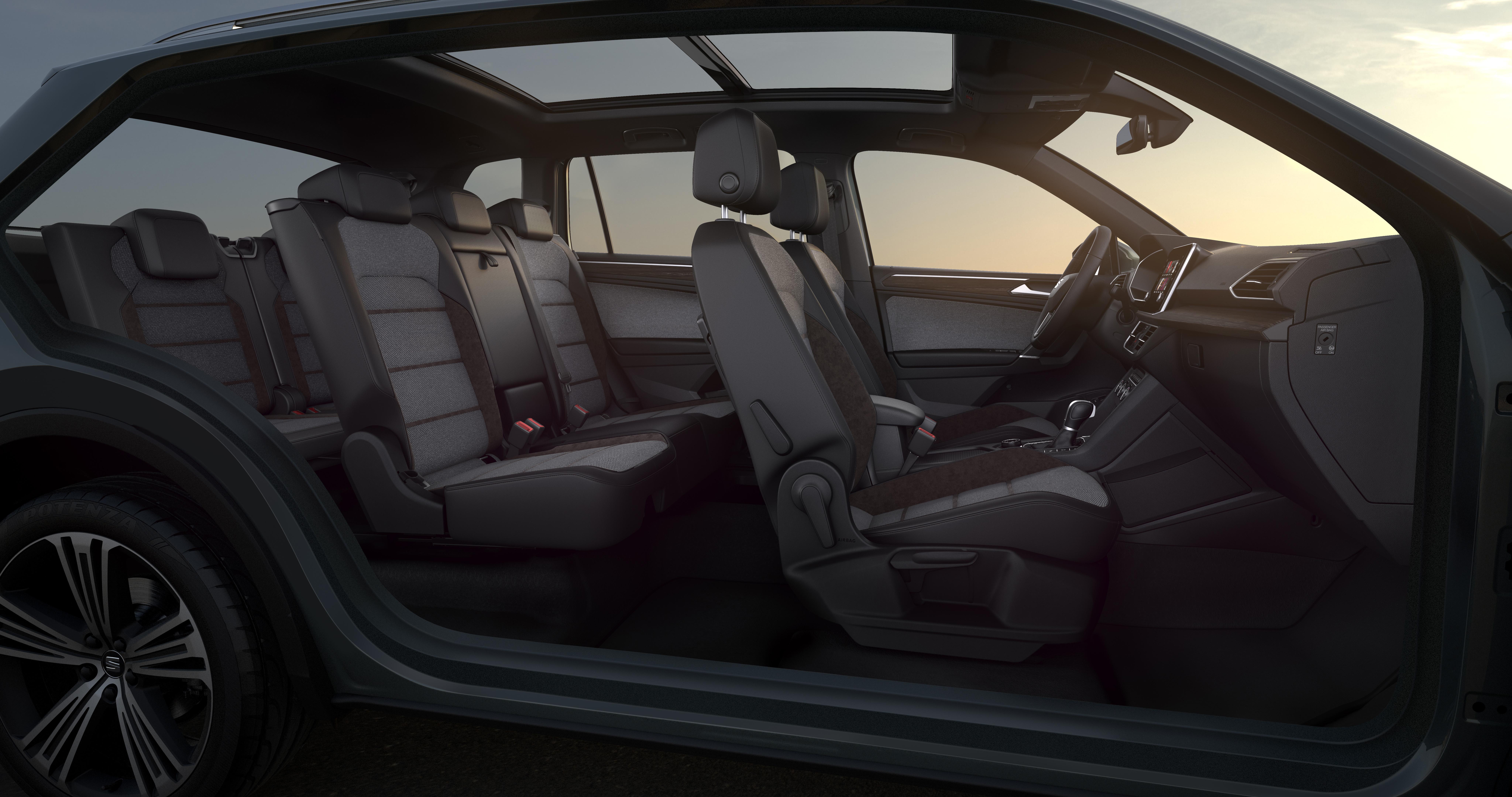 Το νέο SEAT Tarraco στην 7θέσια έκδοσή του