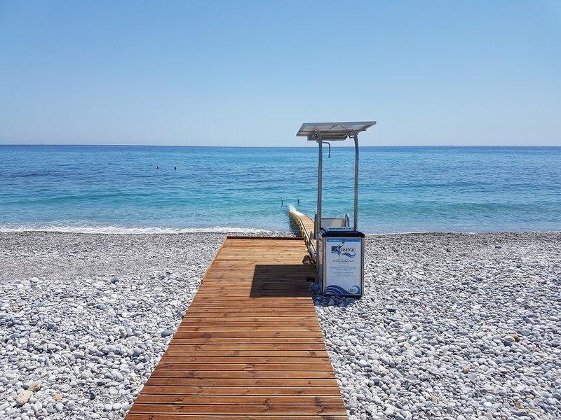 SEATRAC στην παραλία της Καρδαμύλης