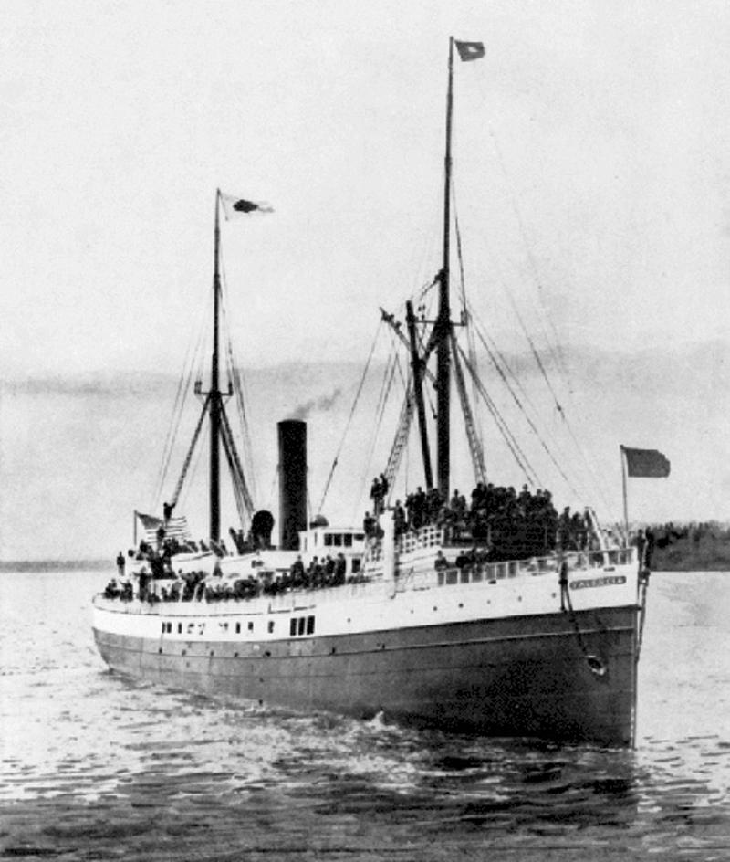 Tο SS Valencia σε μια φωτογραφία του 1905.