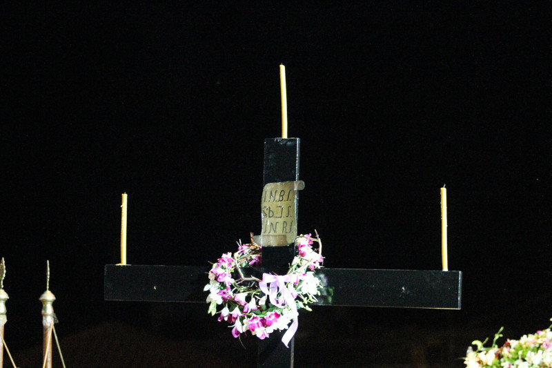 Σταυρός στην εκκλησία