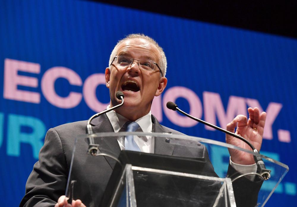 Ο συντηρητικός πρωθυπουργός της Αυστραλίας, Σκοτ Μόρισον