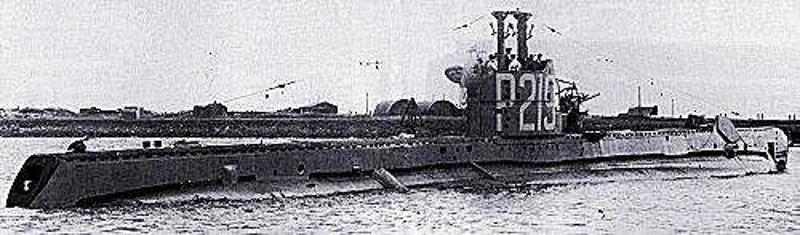 Το υποβρύχιο Seraph του Bρετανικού Βασιλικού Πολεμικού Ναυτικού.