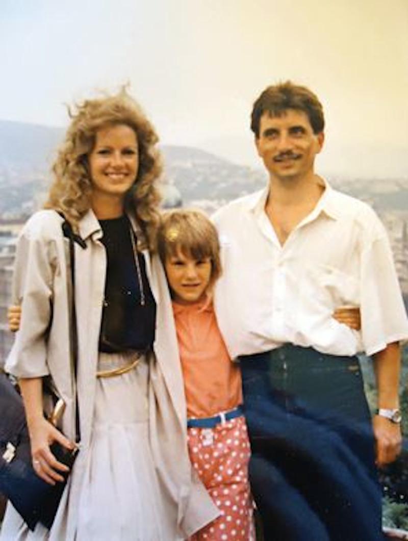 H οικογένεια των Σπίτσνερ λίγους μήνες μετά την απόδραση από την Ανατολική Γερμανία.