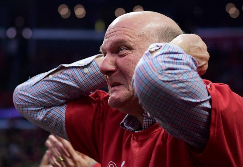Το αφεντικό των LA Clippers, Στιβ Μπάλμερ