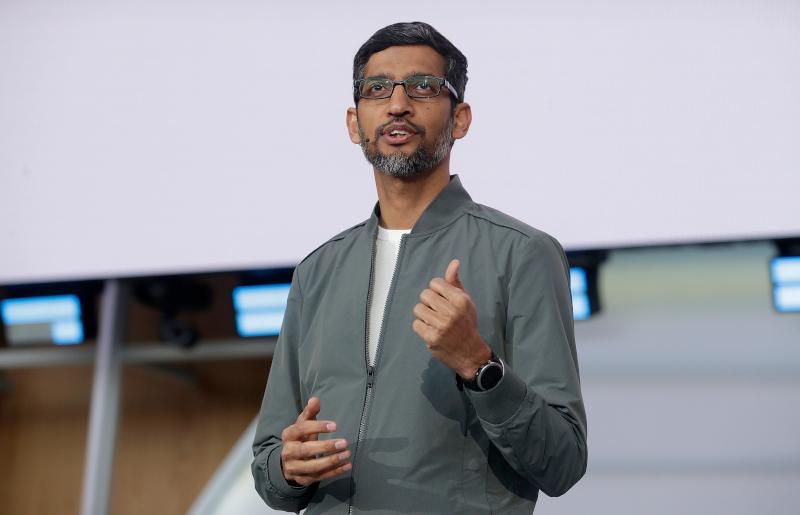 O CEO της Google, Σουντάρ Πιτσάι.