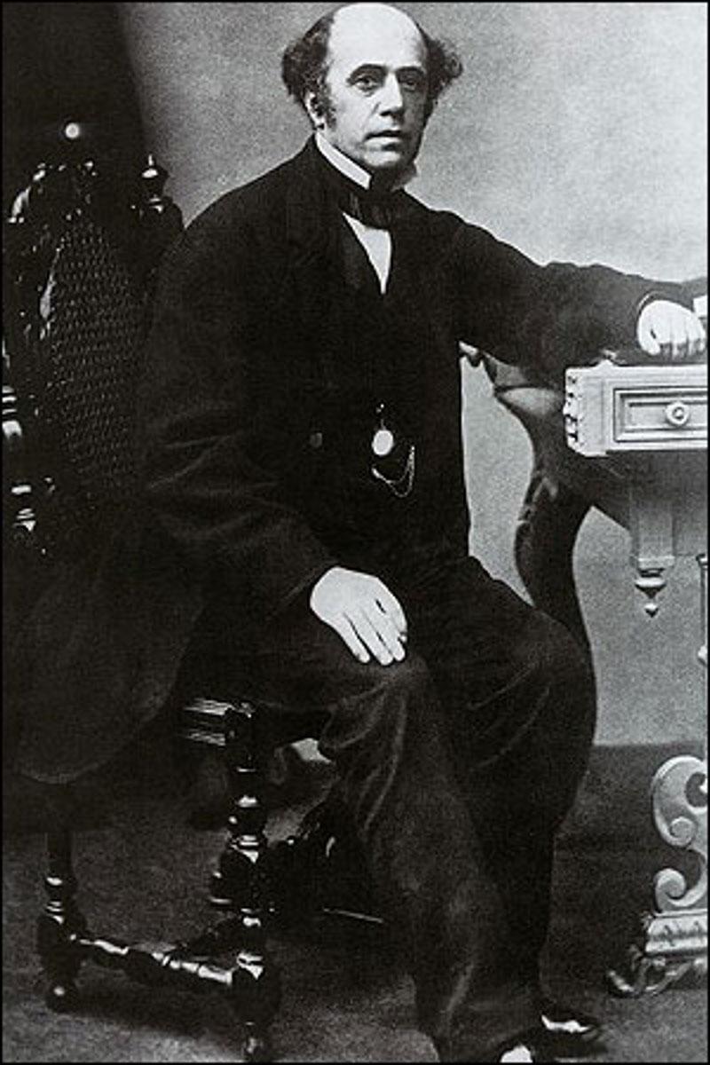 O Βρετανός επιχειρηματίας Τόμας Κουκ (1808-1892), ιδρυτής του ομώνυμου ταξιδιωτικού πρακτορείου.