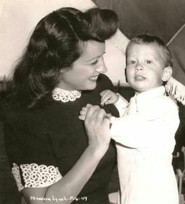 Ο Τίμι Γκετί που απέκτησε ο Ζαν Πολ Γκετί από το γάμο του με την πέμπτη γυναίκα του, Τέντι.
